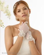 Accessoires, Handschuhe Bianco Evento