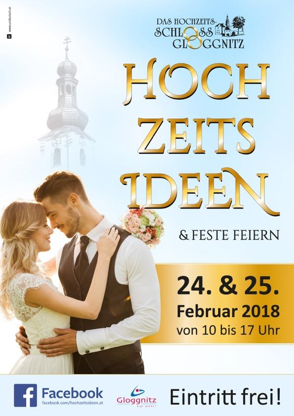 Gloggnitz Plakat A4 Hochzeitsideen 2018